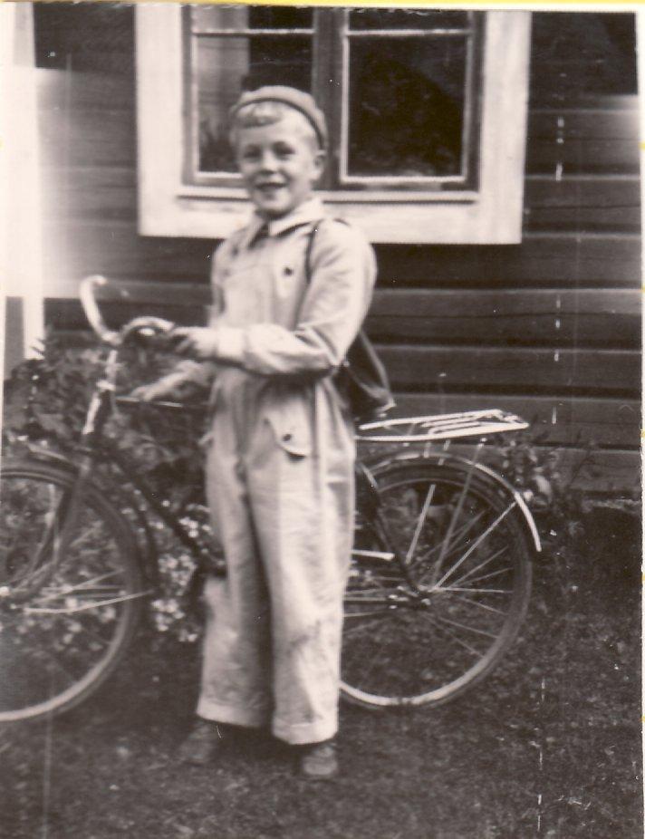 Jans första cykel