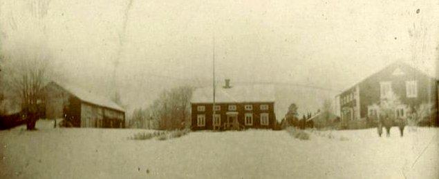 Backen på vintern 1904