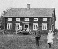 Busvebacken byggt 1858, foto 1904