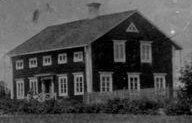 Busvebacken byggt år 1884, foto 1905