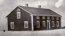 Erik Persa/Bygdegården byggt 1862, foto 1905