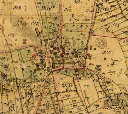 Hagsta by vid laga skifte år 1848