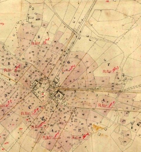 Kläppegårdar 1830