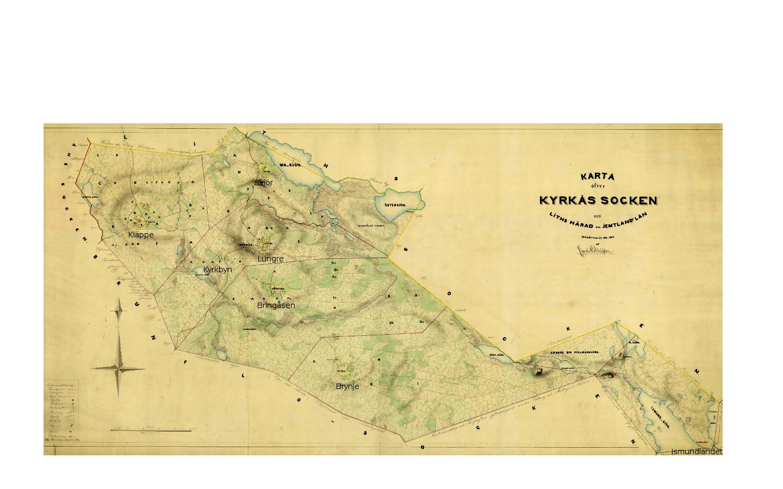 Kyrkås socken år 1855