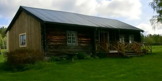 Rustmästargården 1600talsmodell i Kyrkbyn, Kyrkås