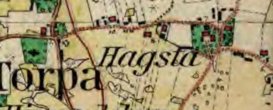 Hagsta by år 1911