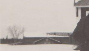 Tröskhus och körvandringshus 13 mars 1930