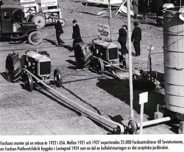 Fordsonutställning 1922