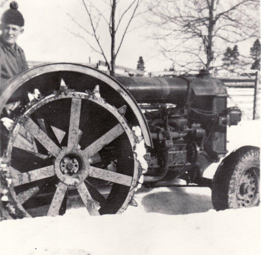 Staffan och Fordson omkr 1958