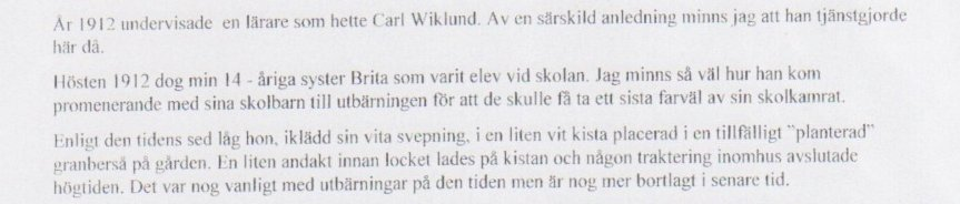 Systern Karin minns