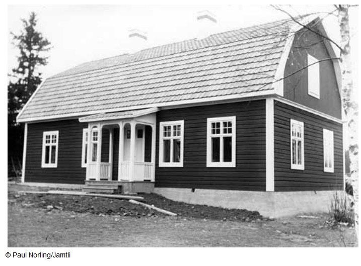 Nya lärarbostaden 1920