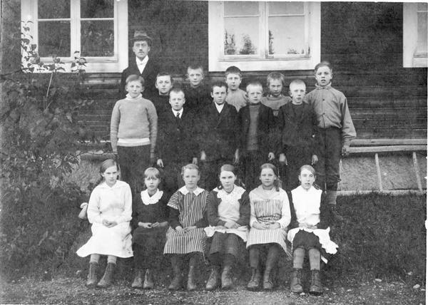 Bringåsens folkskola 1918