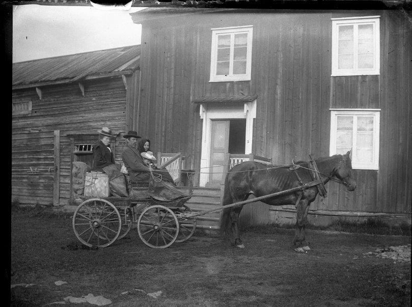 Nils-Persa-Ann, Jöns Backman, Lill-Anna Andersson och Anna Nilsson
