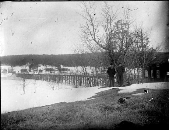 Gamla Litsbron 1905 fr Klösta
