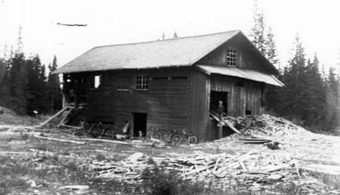 Gilleråsågen slutat 1920