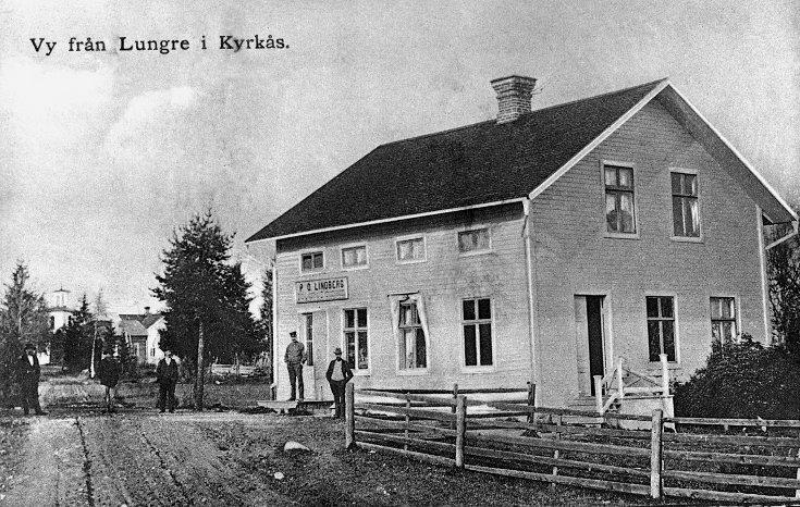 P O Lindbergs affär