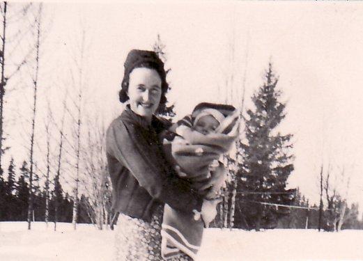 Jag nyfödd julen 1941