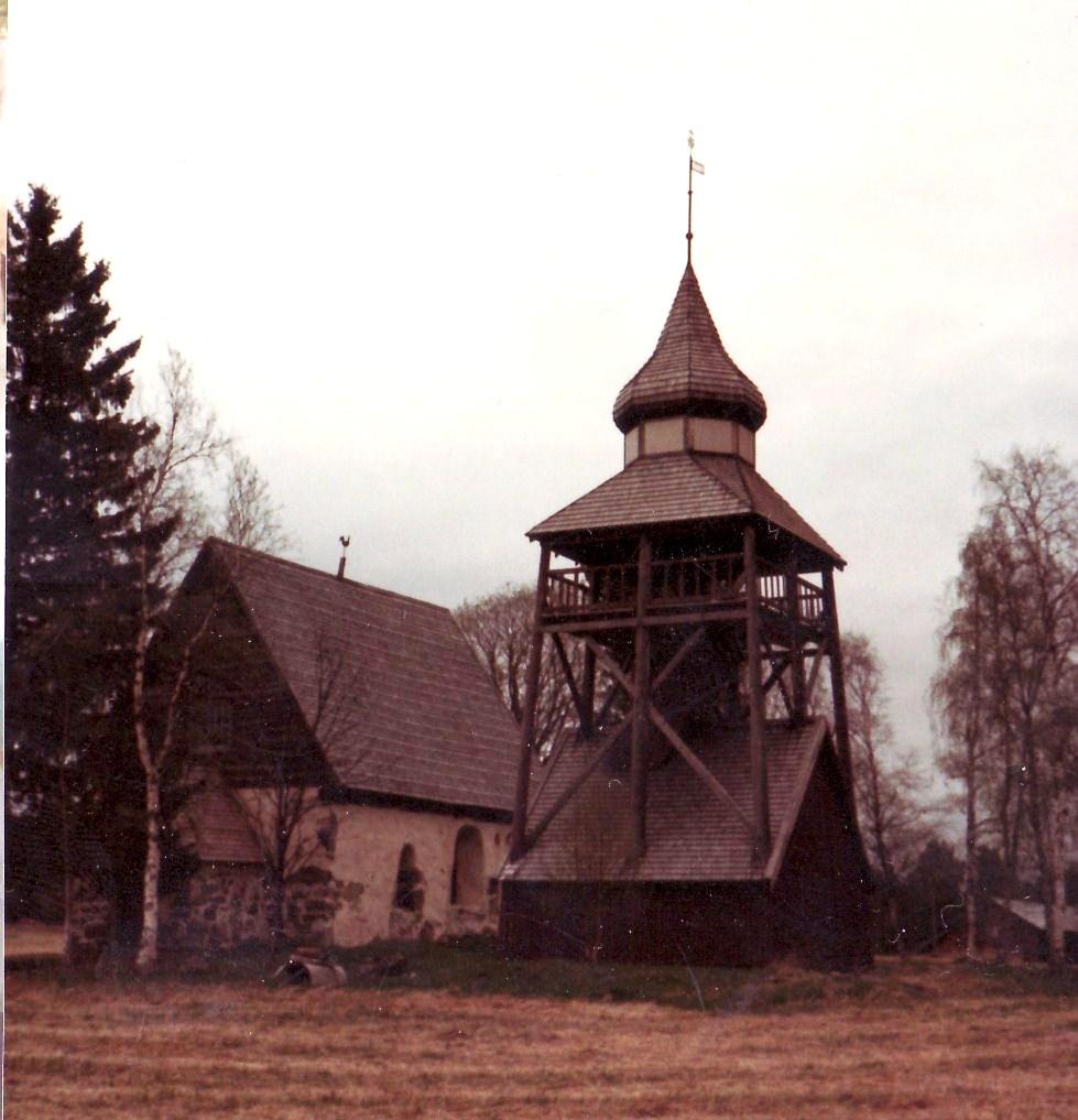 Gamla kyrkan från väster