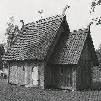 Stavkyrkan i Lillsjöhögen