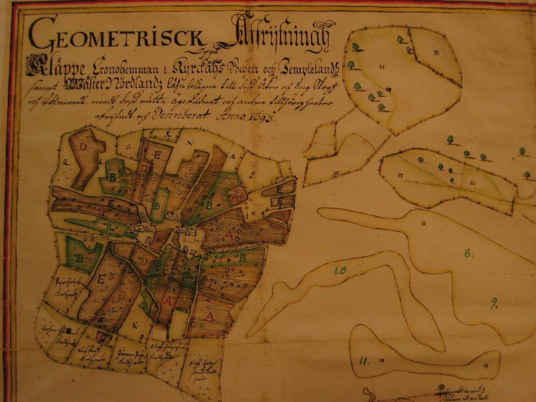 Ägor i Kläppe 1693