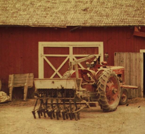 År 1960 är hästen utbytt för gott