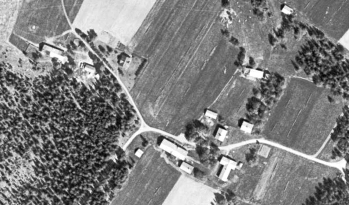 Bringåsen omkring 1960