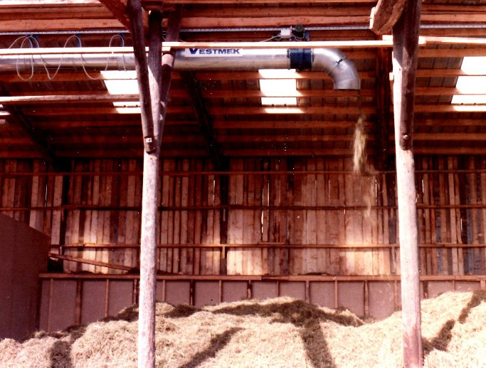 Kallufttork med höfördelare