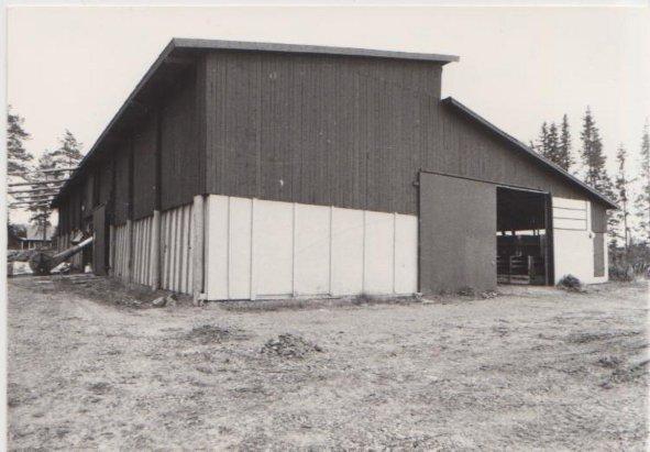 Nytt fårhus 1979-80