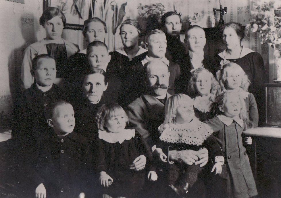 Julen 1919 på Katrinehill
