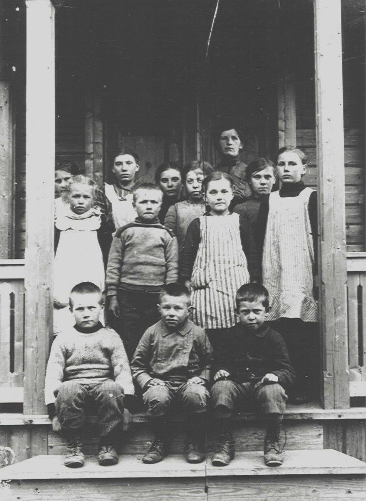 Torsgårds skola omkr 1914