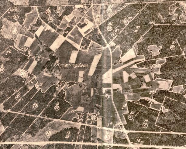 Bringåsen 1963 ca 12 fastigheter