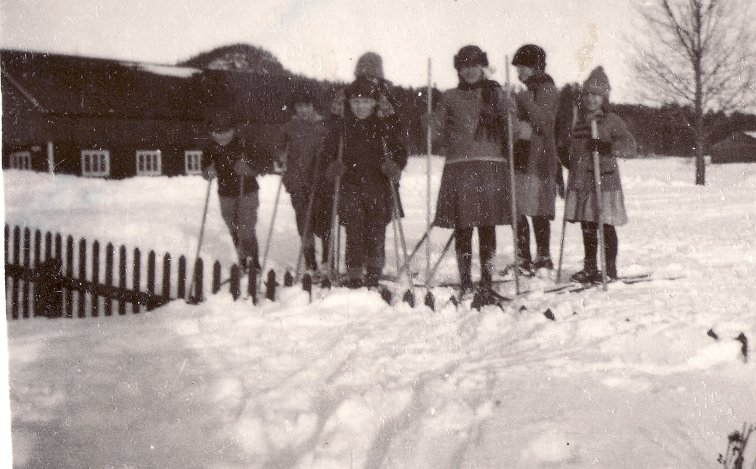 Skidåkare på Katrinehill