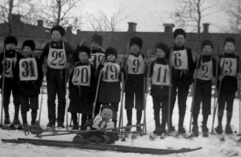Skidtävling Odenslund 1905