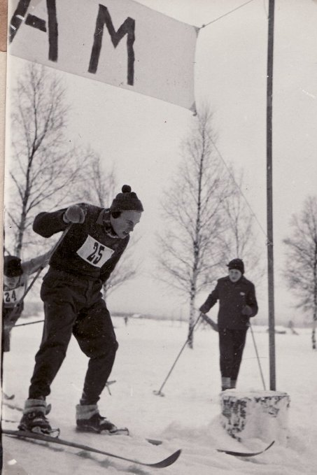 SLU-DM i Mattmar 1957