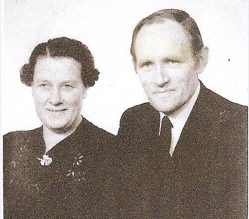 Astrid och Ruben Nilsson 1950