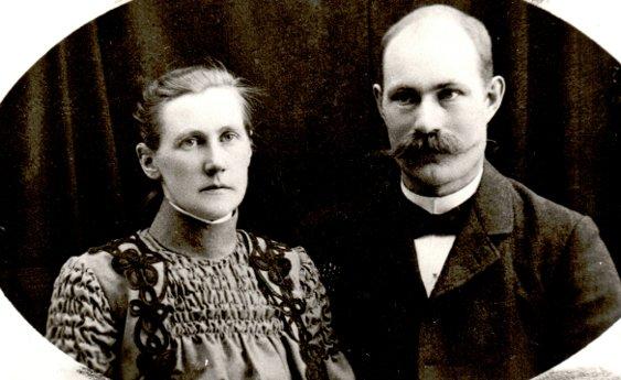 Katarina och Nils omkring 1905-1910