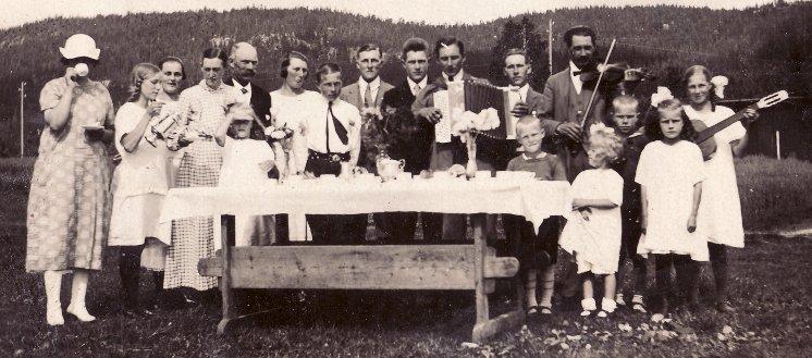 På Katrinehill 1925