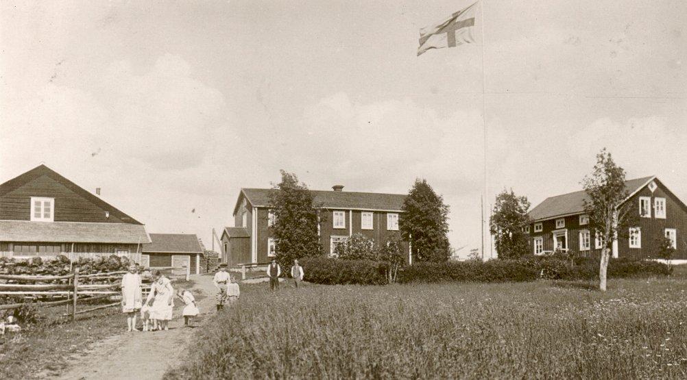 Gården i Täng 1933
