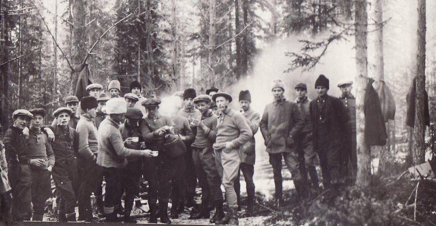 Skogsövning 1926
